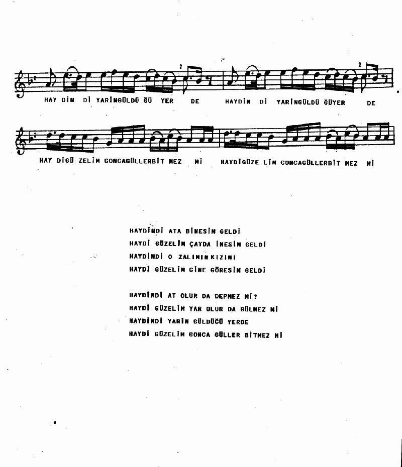 Ata Binesim Geldi - 1 Nota 2