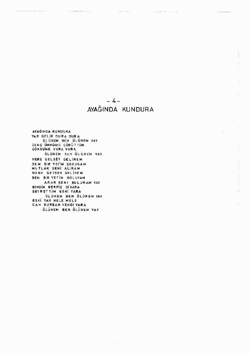 Ayağında Kundura - 2 Nota 4