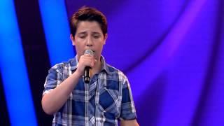 Yarı Final - Alvi Moreno 'Happy' (O Ses Çocuklar Türkiye) 1. Sezon 8.Böüm